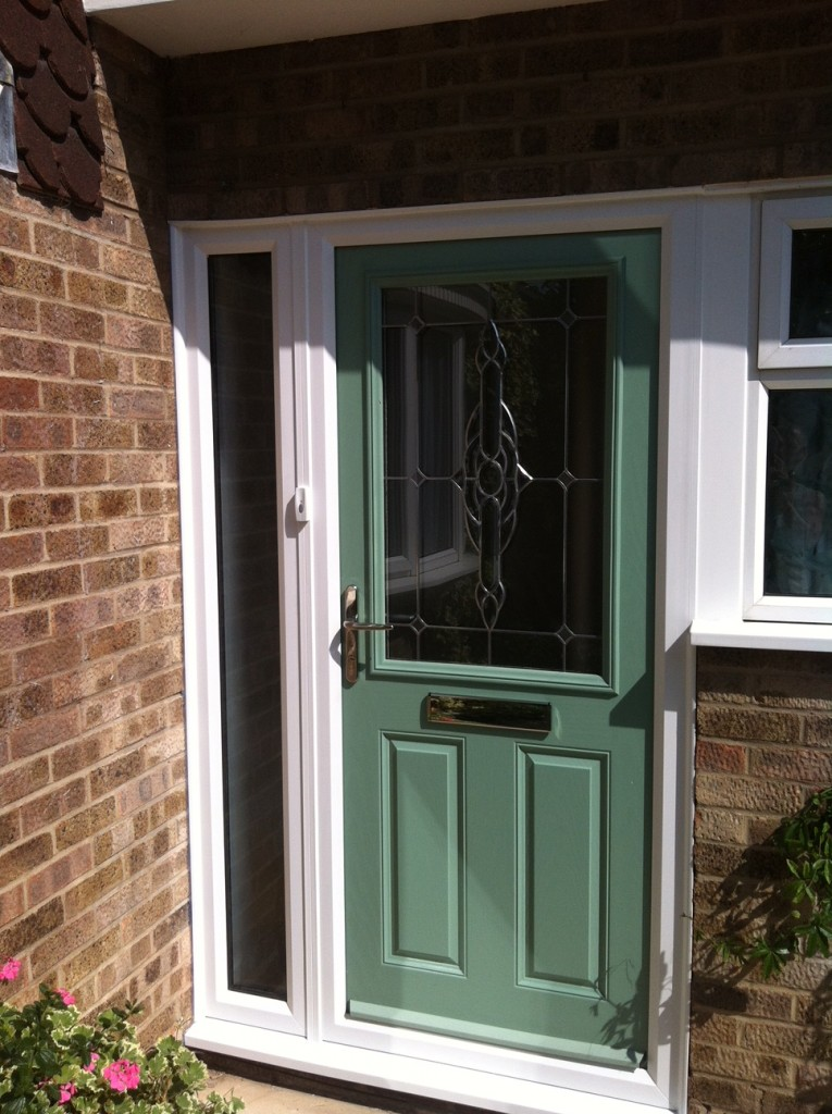 Replacement door, Godmanchester