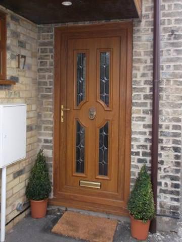 Before Replacement Door