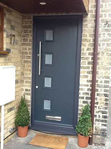 Ultra Modern Composite Replacement Door