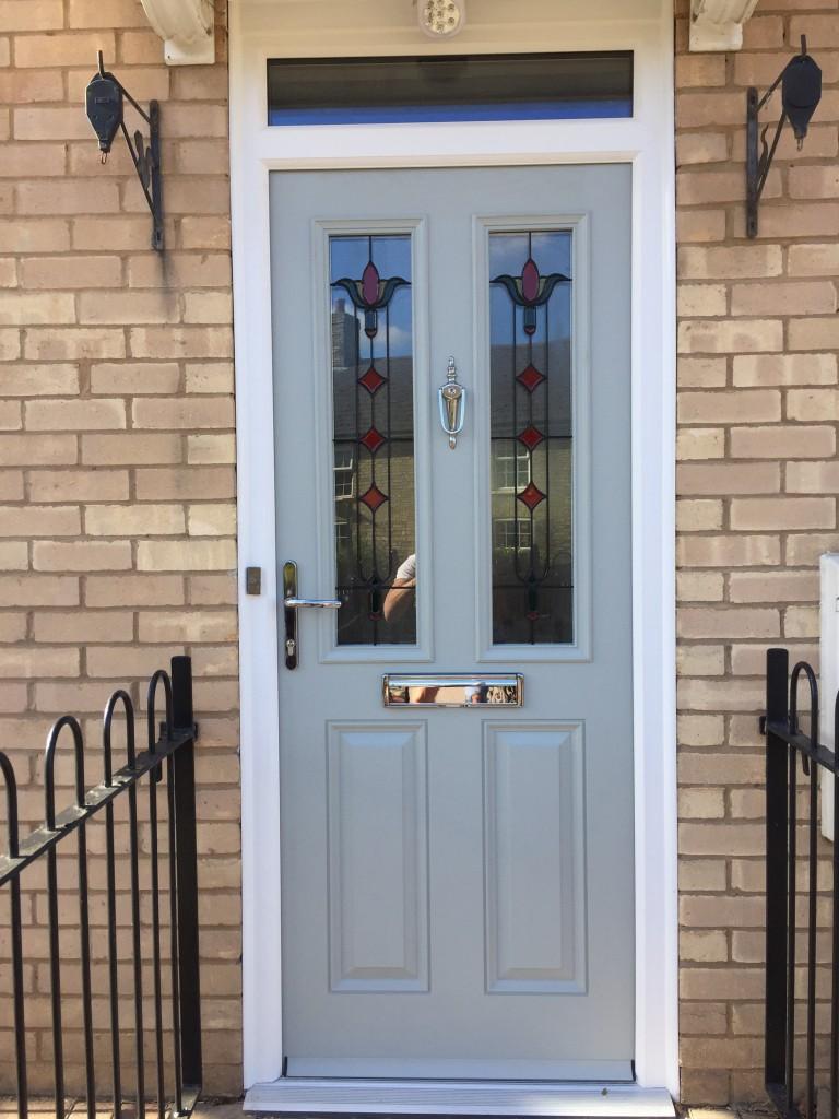 New Colour Composite Door Agate Grey In Warboys Apple